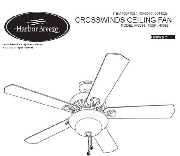 Harbor Breeze Ceiling Fans Customer Service Phone Number