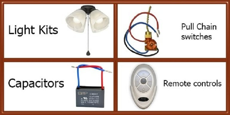 harbour breeze ceiling fans replacement parts