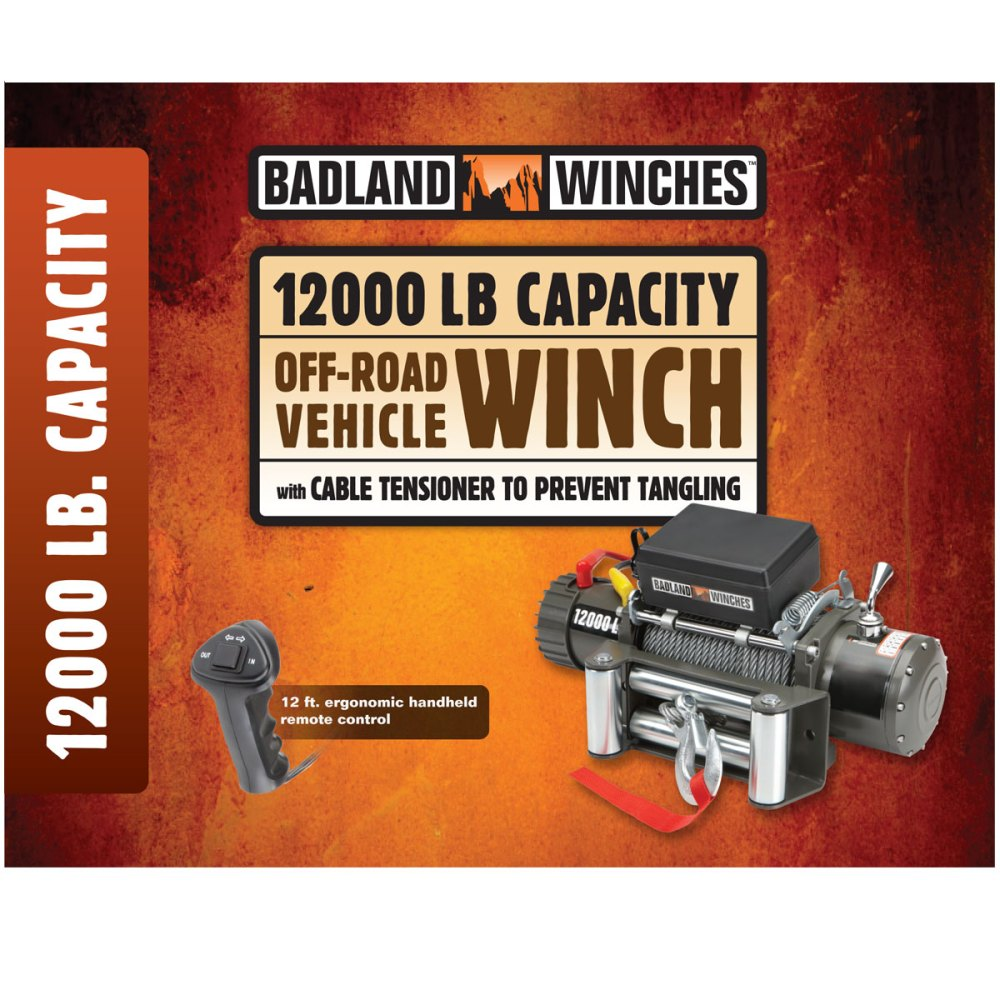 medium resolution of reviews badland 12 000 lb winch reviews by offroaders
