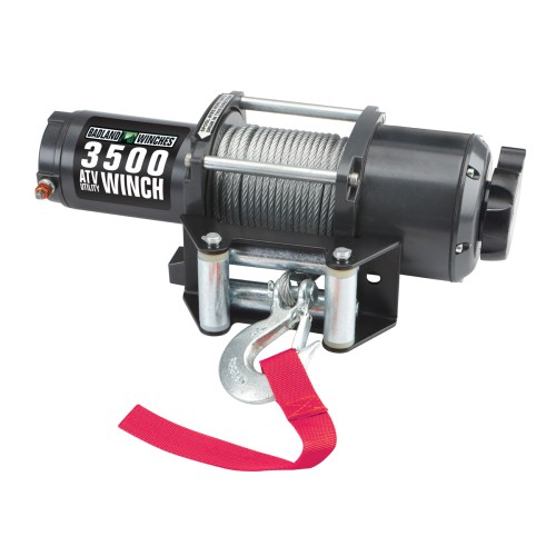 small resolution of atv utility electric winch with automatic load holding brake