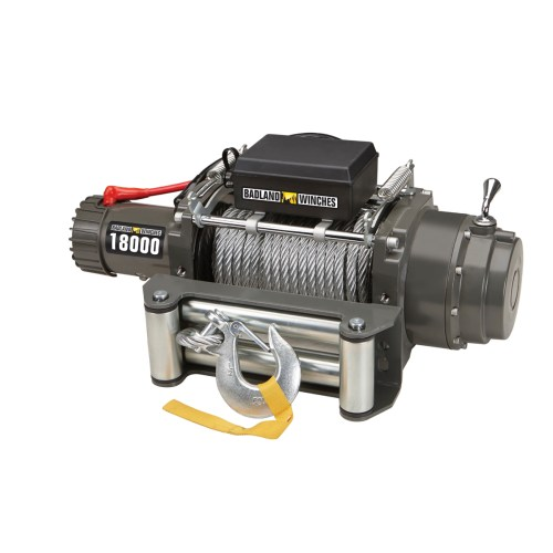 small resolution of industrial tow truck electric winch with automatic load holding brake