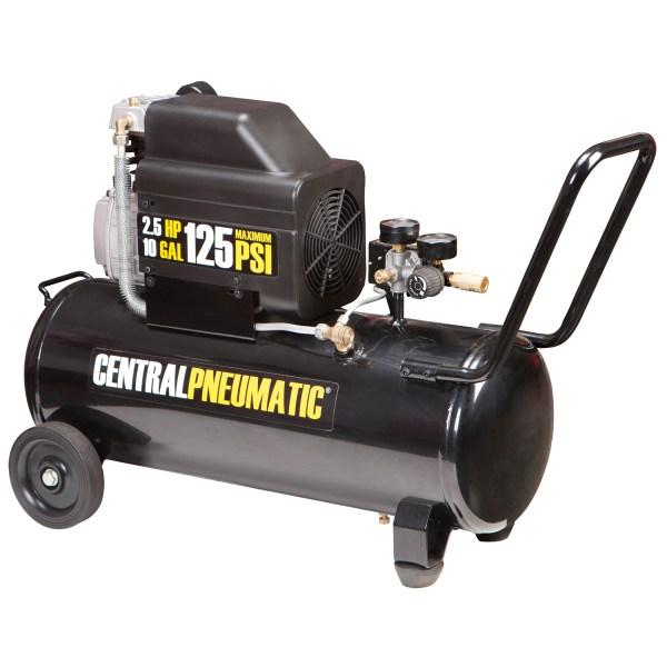Gal 2.5 Hp 125 Psi Oil Lube Air Compressor
