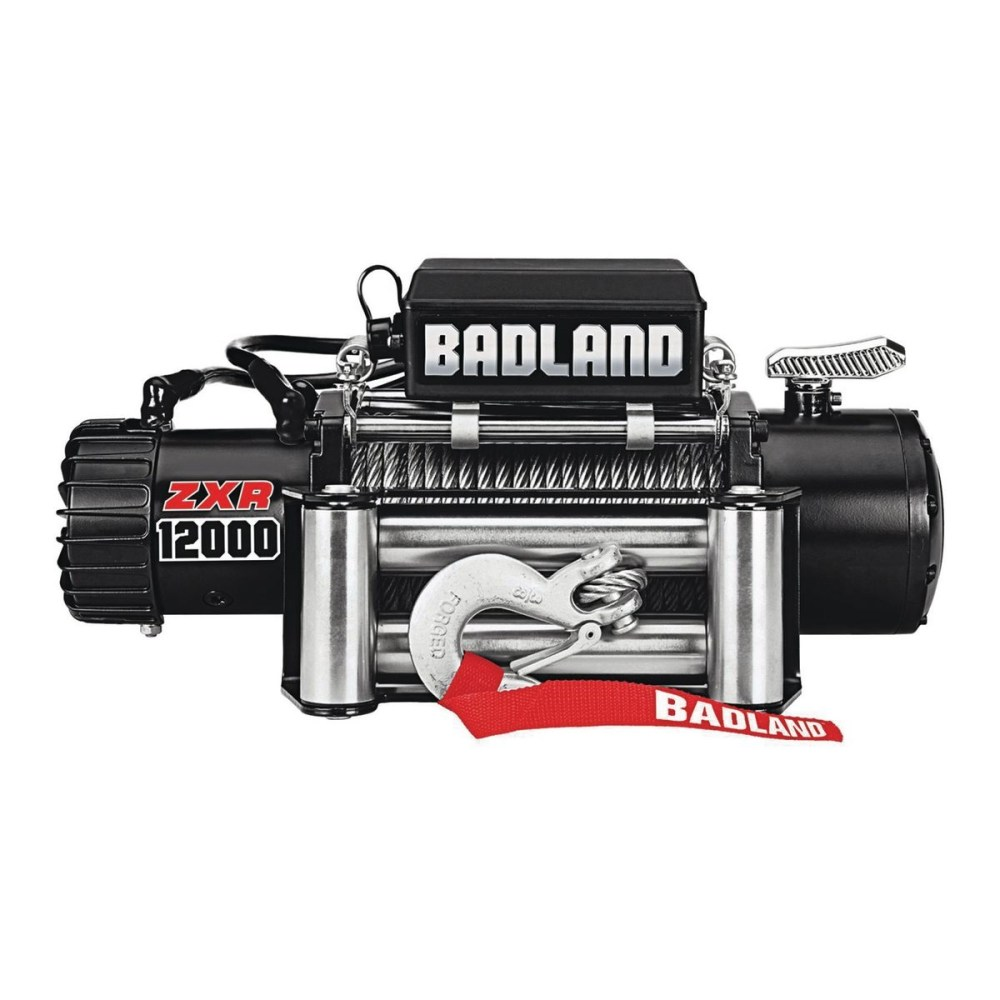 medium resolution of 12000 lbs off road vehicle electric winch with automatic load holding brake