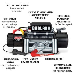 off road vehicle electric winch with automatic load holding brake [ 1200 x 1200 Pixel ]