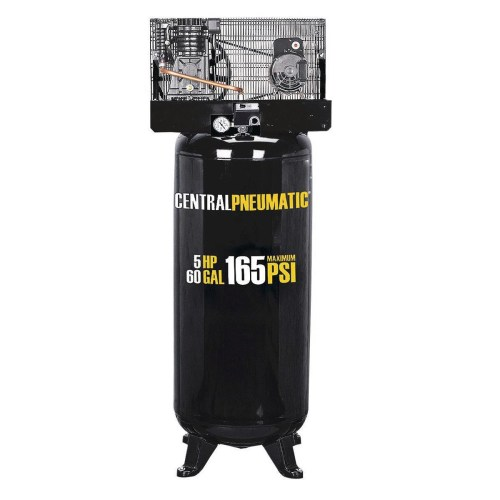 small resolution of 60 gallon air compressor 2 stage 5 hp 165 psi