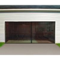 Double Garage Screen Door