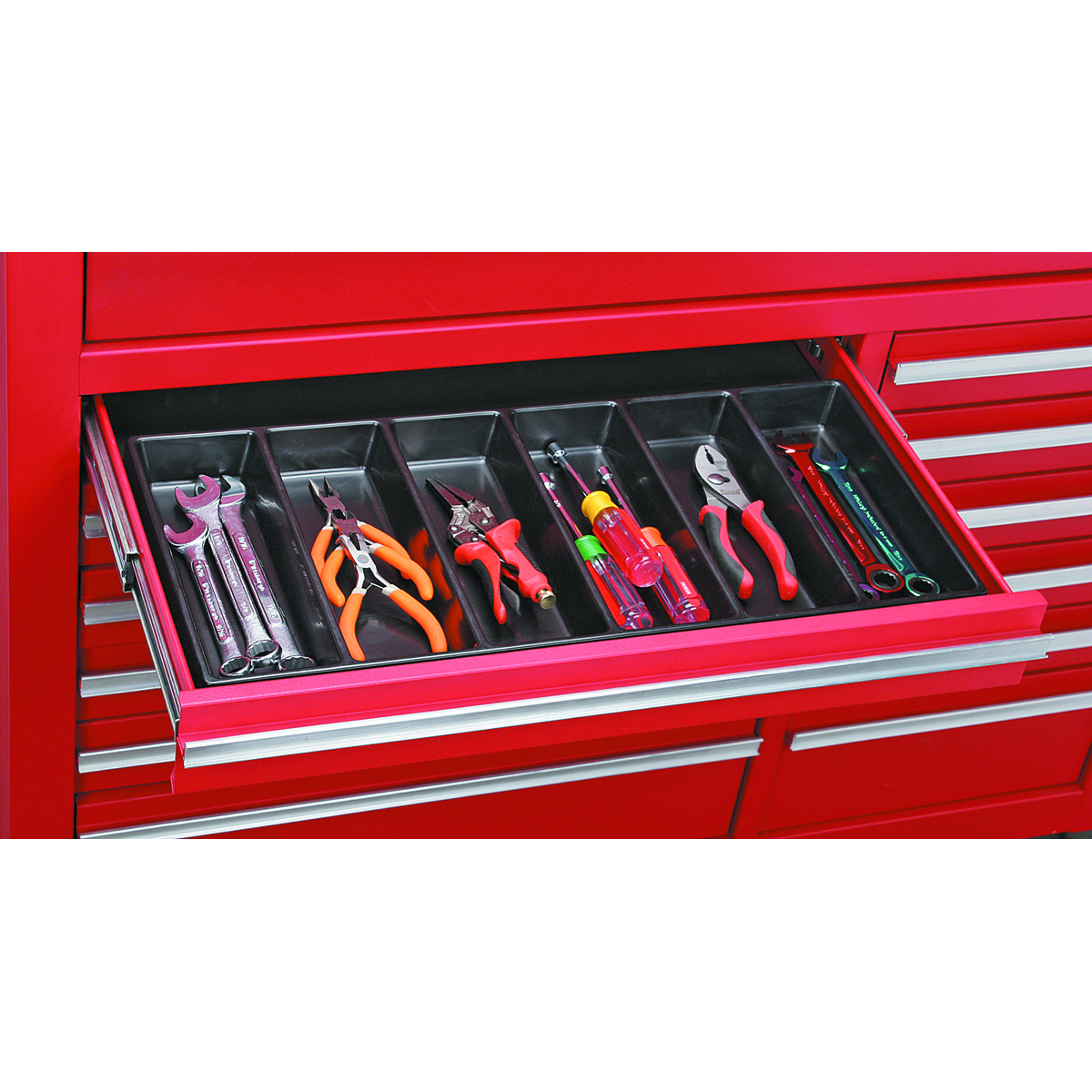 6 Compartment Drawer Organizer