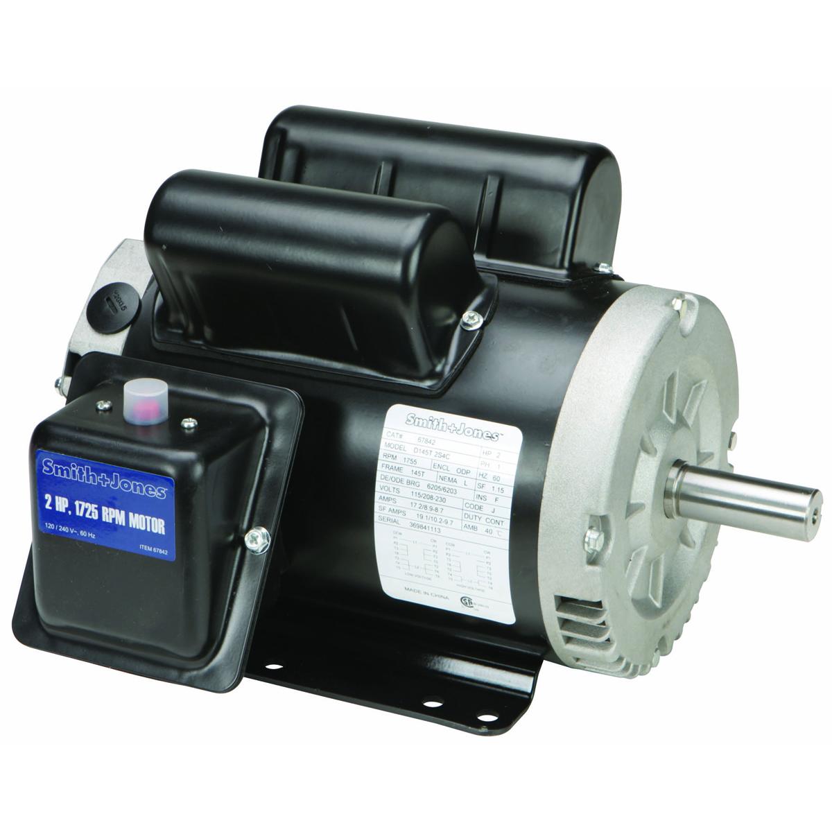 Emerson 2hp Electric Motor Wiring Diagram 2 Hp Compressor Duty Motor