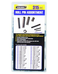 also piece roll pin assortment rh harborfreight