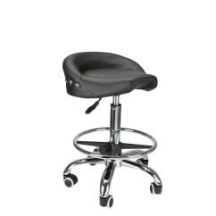 Rolling Stool Chair Affordable Salon Chairs Biker Style Pneumatic Roller Seat