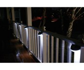 outdoor solar lights for fence