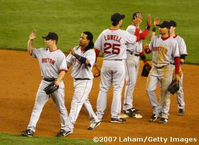 MAY 22: Red Sox Win 7-3 at Yankee Stadium