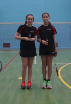 U16 Girls Doubles