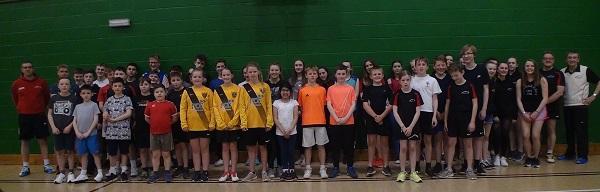 Harborough LC Junior Badminton Club Members - 2017-18
