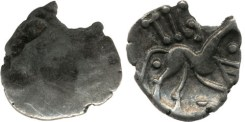 This is the only coin of this type found at Hallaton. This type is more commonly found in the northern Corieltavi area.