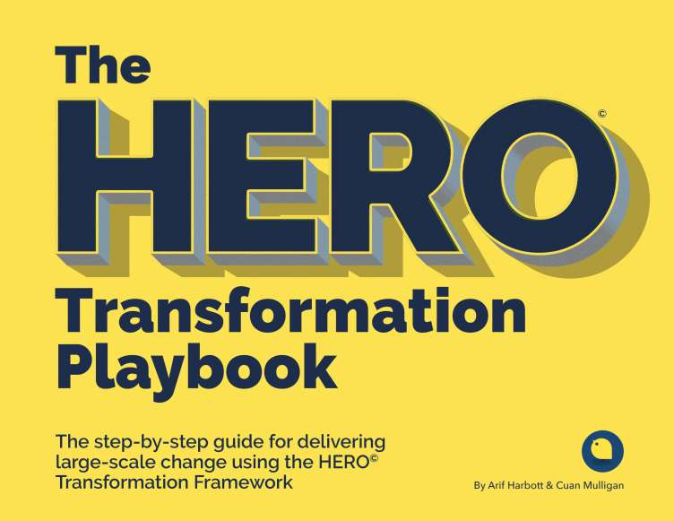 HERO Transformation Playbook Cover