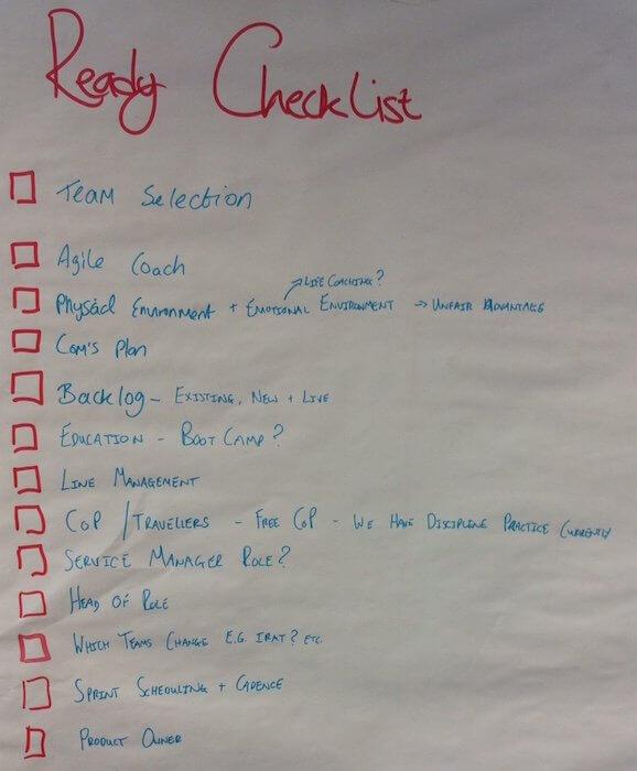Ready Checklist