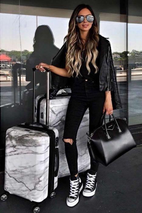 Tips para ser una mujer con carácter y actitud aeropuerto