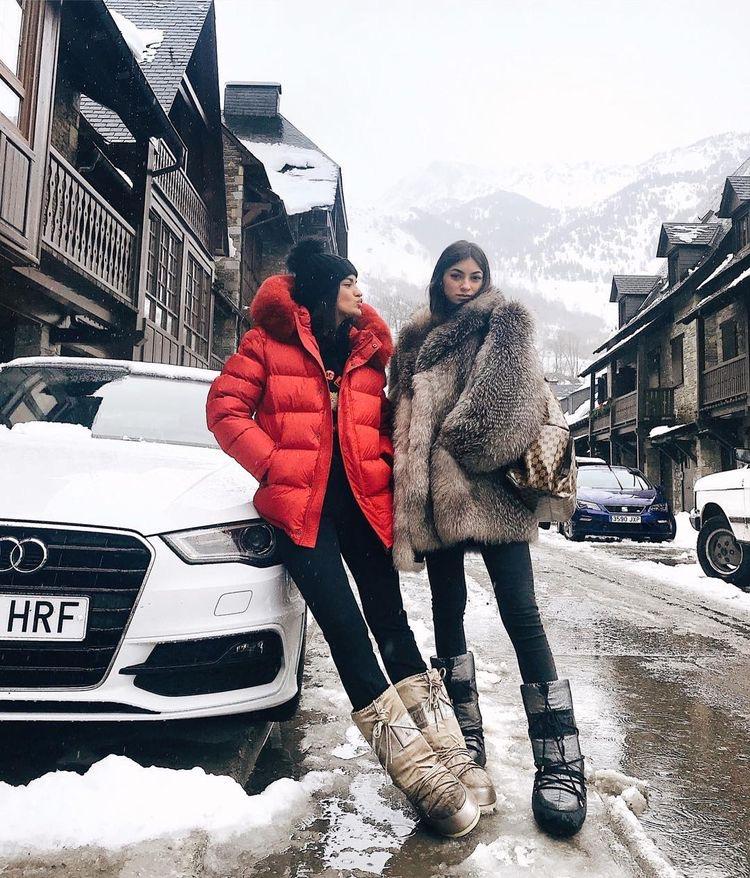 outfit invierno 2020 ropra para nieve
