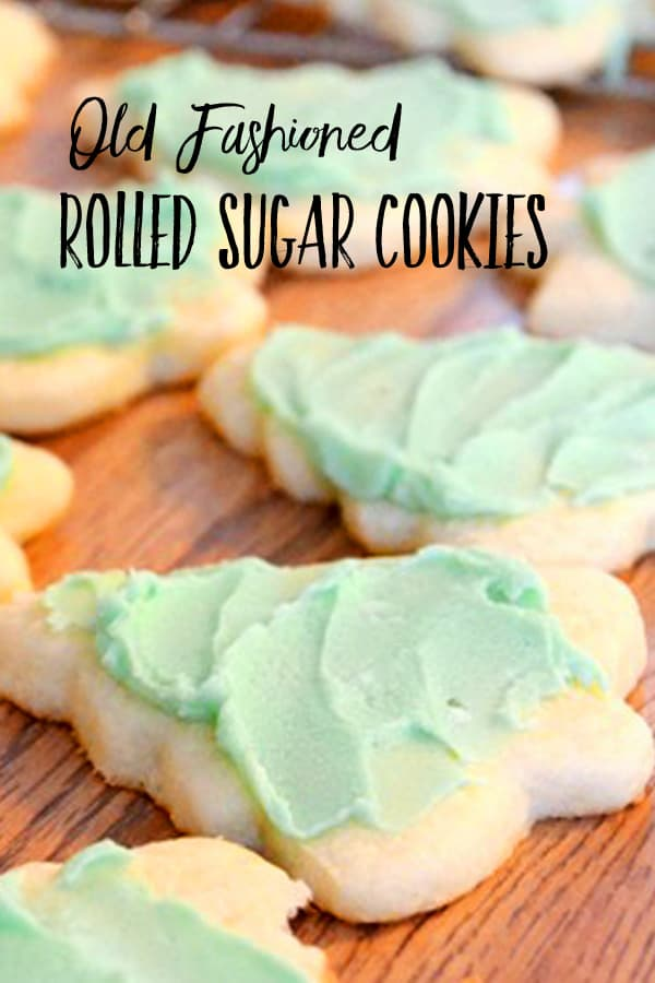 Old Fashioned Rolled Sugar Cookie Recipe Harbour Breeze Home