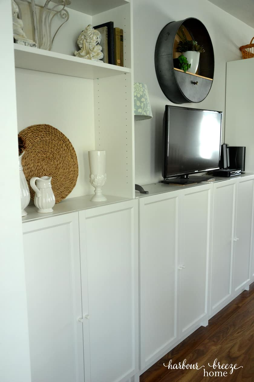 How To Organize Office Supplies In Ikea S Billy Bookcases