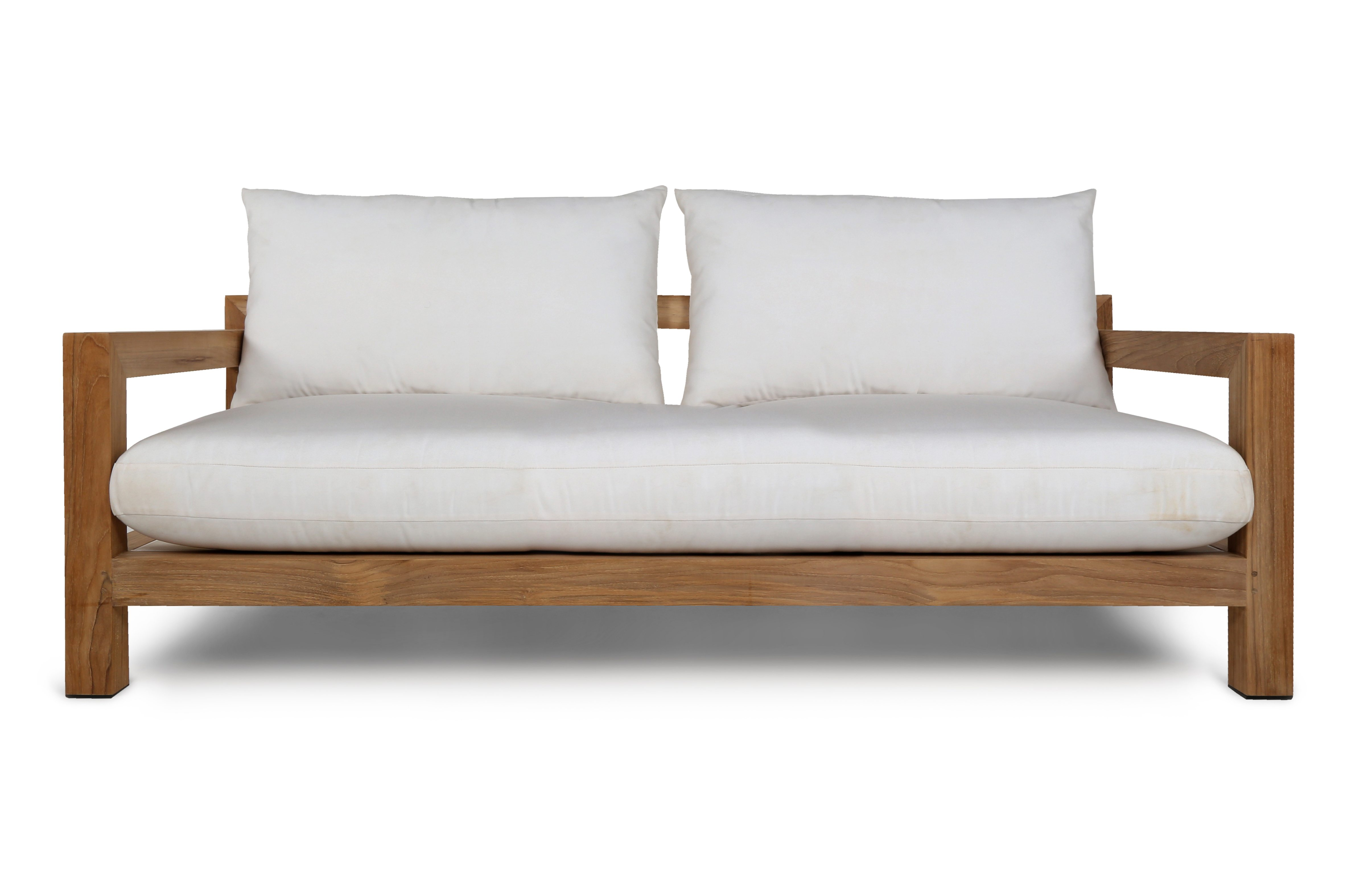 sofa arm table australia what size is a queen sleeper pacific 2 seat indonesian teak harbour outdoor