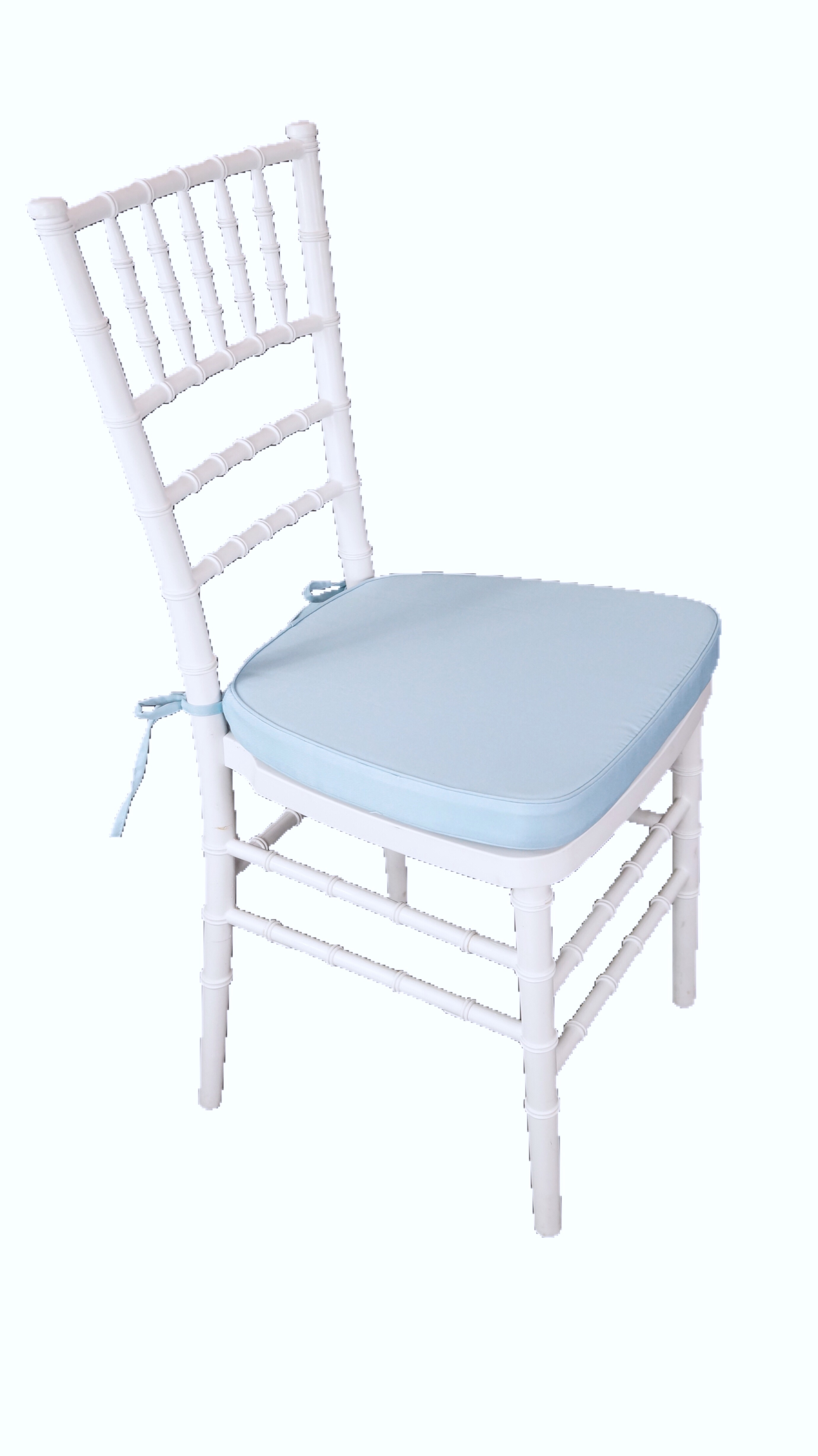 blue chair pads wooden rifton baby cushion harbourside decorators
