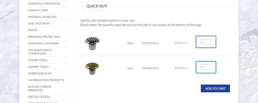 Introducing Quick Buy