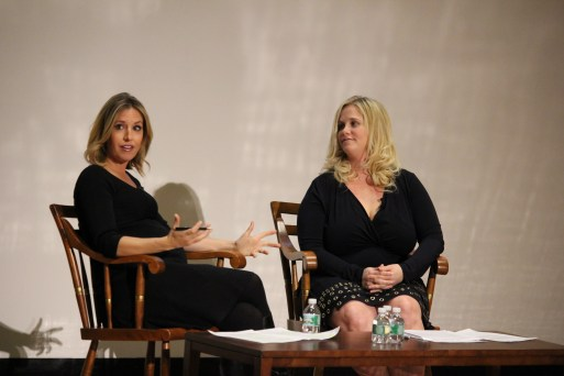 Poppy Harlow, CNN Newsroom Weekend Anchor and Tracy Britt Cool, CEO Pampered Chef