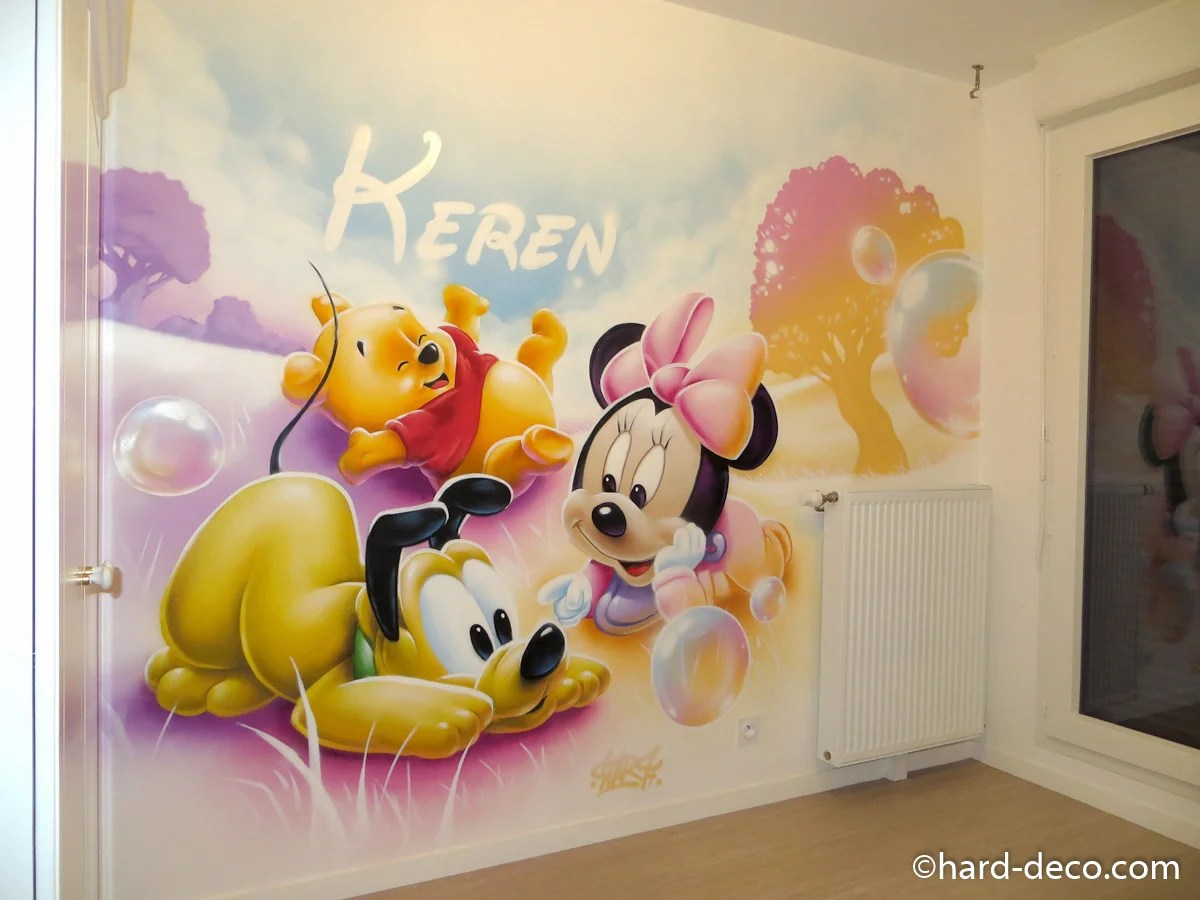 Fresque Murale Chambre Fille Free Fresque Couloir With