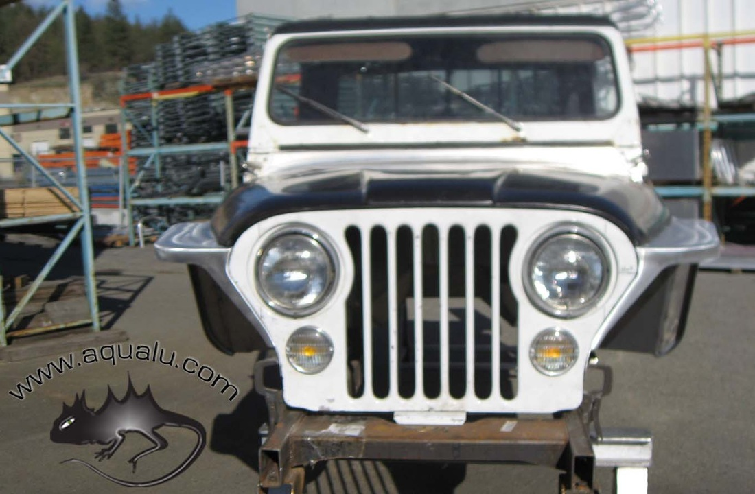 hight resolution of  5230 3 cj high hood front fenders 3 wide