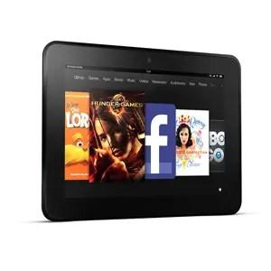 7. Kindle Fire HD