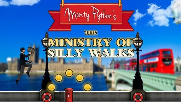 monty python, ministry of silly walks, android game, best android games