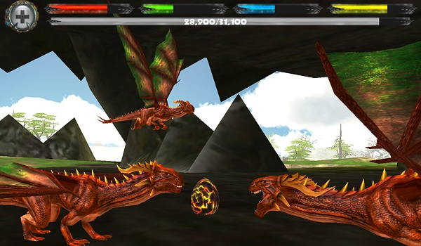 World of Dragons, Android game, sim