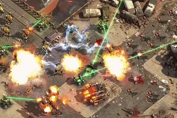Epic War battle 1