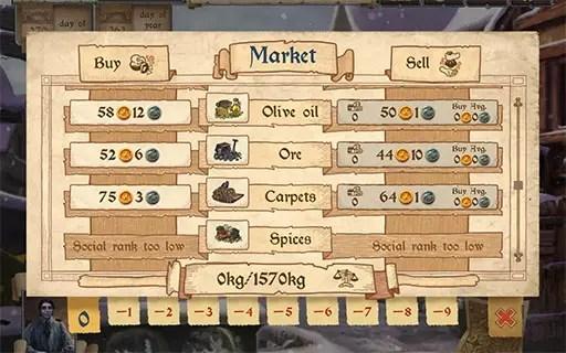 Merchants of Kaidan | best Android strategy