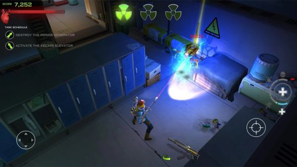 Android shooter, Xenowerk, Android games