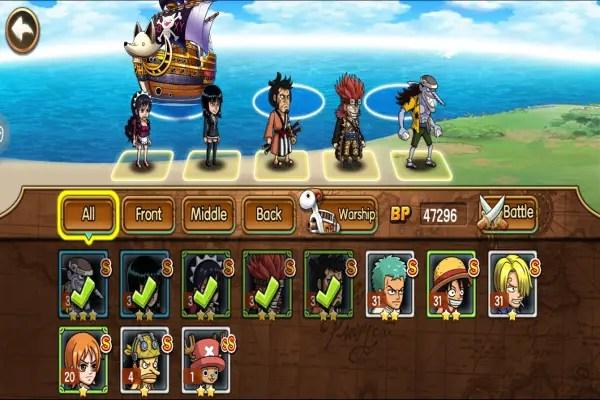 Pirate Warriors Adventure screen