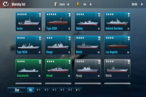 Warship Legend Fleet