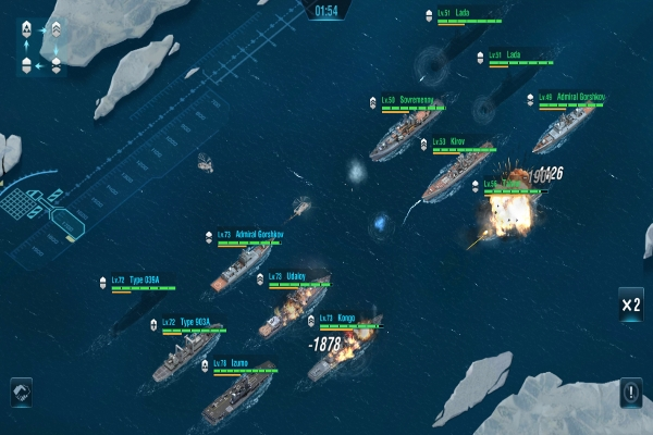 Warship Legend Battle