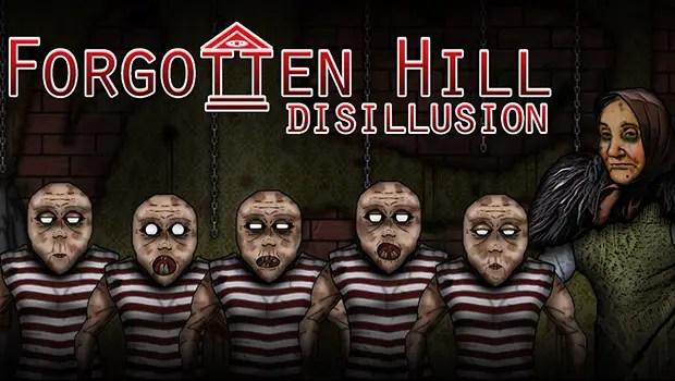 Forgotten Hill Disillusion logo
