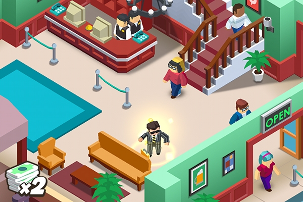 android hotel empire tycoon dancing guy