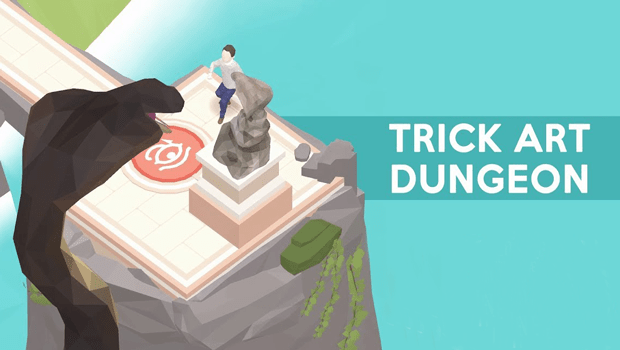 trick art dungeon 0
