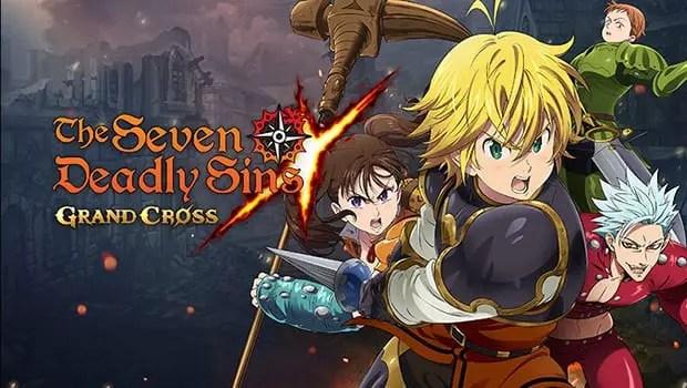 Seven Deadly Sins Grand Cross title screen