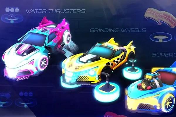 RaceCraft car customization