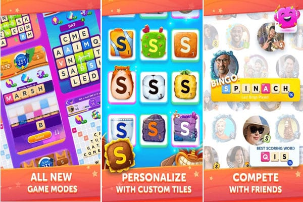 Android Scrabble Go 3