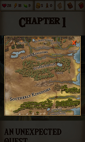 WarQuest in-game map