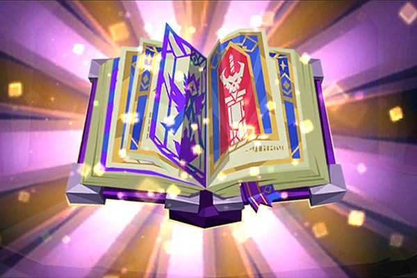 Epic Summoners 2 book animation