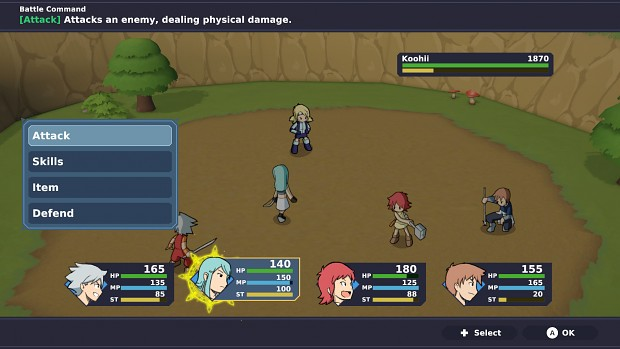Crystal Story: The Hero and the Evil Witch 2