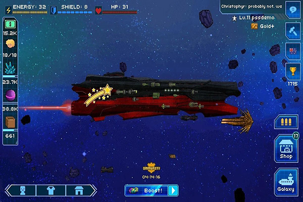 Pixel Starships Android 01